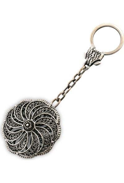 Akyüz Gümüş Telkari Gümüş Anahtarlık Anh004