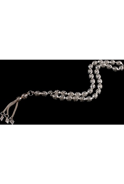 Akyüz Gümüş Telkari Gümüş Tesbih Tsb014