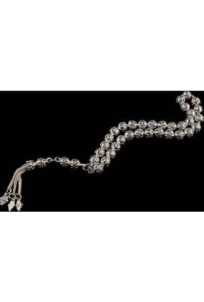Akyüz Gümüş Telkari Gümüş Tesbih Tsb015