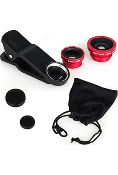 Hediye Paketim Balık Gözü Cep Telefonu Lensi Tüm Modellere Uyumlu