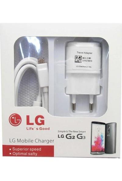LG Şarj Cihazı+Data Kablosu
