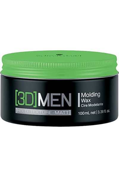 Schwarzkopf 3Dmension Moulding Wax Şekillendirici Wax 100Ml