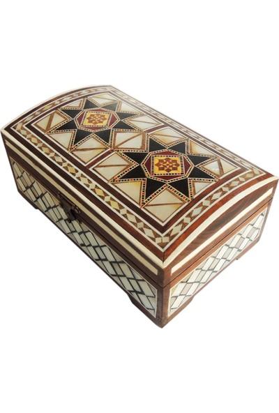 Gümüştekin Özel Tasarım Sedefli Kutu