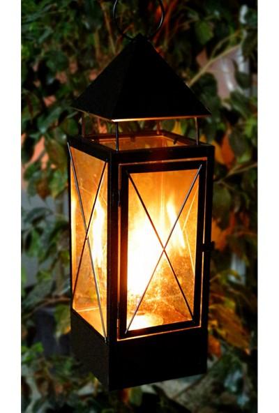 Greenmall Torch Black Gazlı Mumluk - L