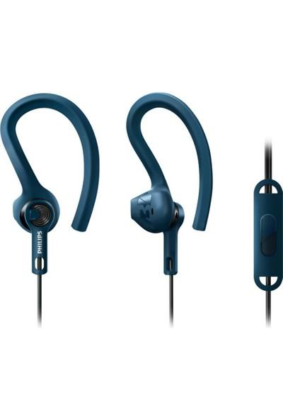 Philips SHQ1405BL AcitonFit Mikrofonlu Kulak İçi Spor Kulaklığı