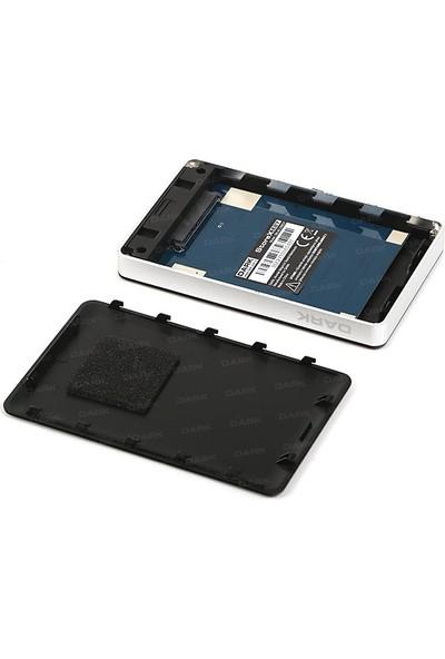 """Dark Storex E27 2,5"""" USB 3.0 Sata Şifreli Disk Kutusu (256bit AES Şifreleme)(DK-AC-DSE27)"""