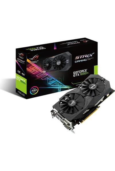 Asus STRIX Nvidia GeForce GTX 1050 Ti 4GB OC 128Bit (DX12) PCI-E 3.0 Ekran Kartı STRIX-GTX1050TI-O4G- Gaming