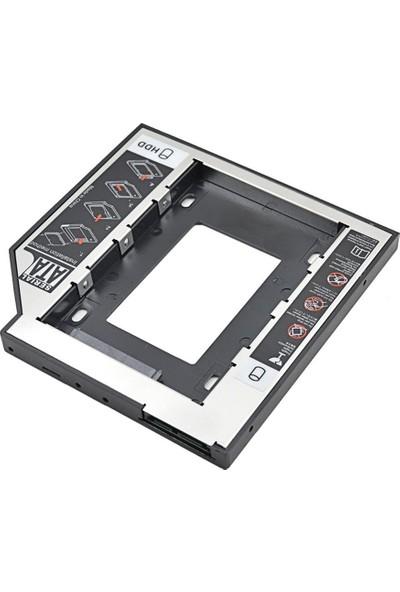 Alfais 4716 9.5mm Sata Hdd Harddisk Caddy Kızak Kutu Laptop Ssd Notebook İkinci Hdd Takma