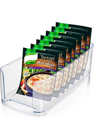Helen's Kitchen Buzdolabı İçi Kutu İçecek ve Hazır Yiyecek Düzenleyici
