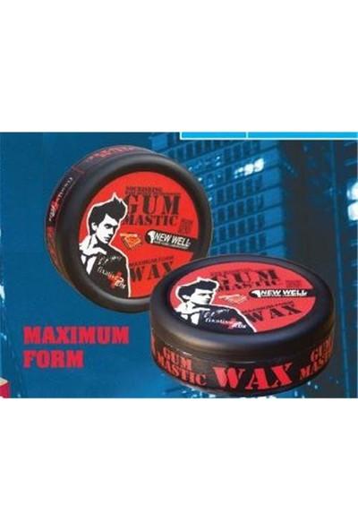 New Well 5D Gum Mastıc Şekillendirici Wax 150 Ml Yeni