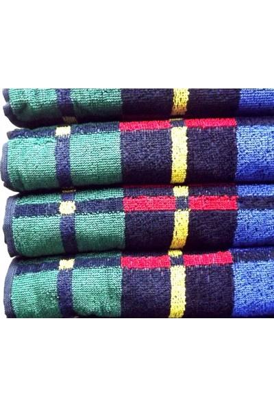 Osmanlı Tekstil Renkli El Havlusu Eko Ekose