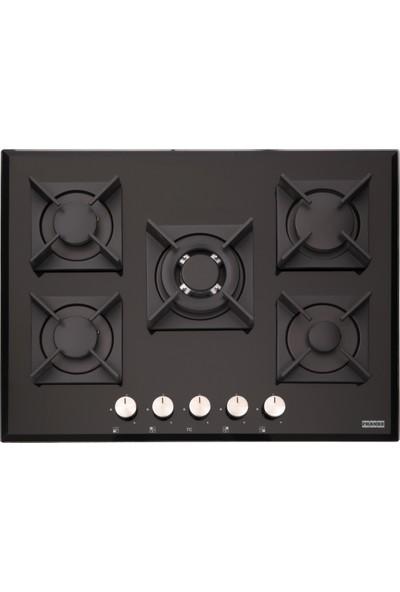 Franke Glass Linear Square - Fhgs 705 4G Tc Bk C Glass Black Ocaklar