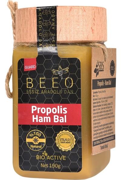 Bee'o Anadolu Propolisi+Ham Bal 190 Gr
