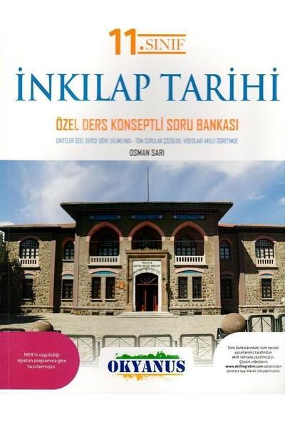 Okyanus Yayınları 11. Sınıf T.C. İnkılap Tarihi ve Atatürkçülük Özel Ders Konseptli Soru Bankası