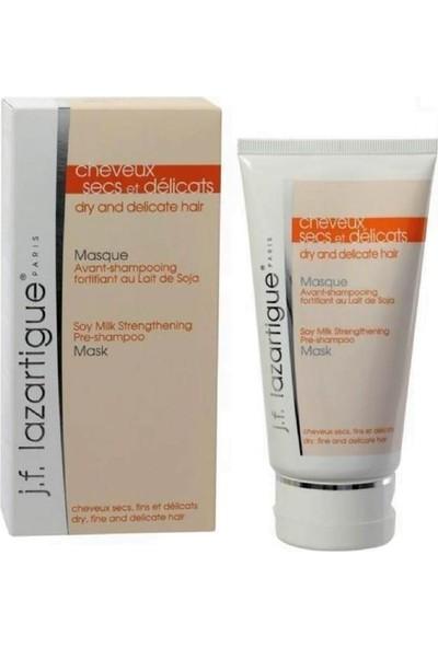 J.F Lazartique Dry & Delicate Hair Soy Milk Strengthening Mask Kuru Saçlar İçin Soya Sütlü Bakım Maskesi 150 Ml