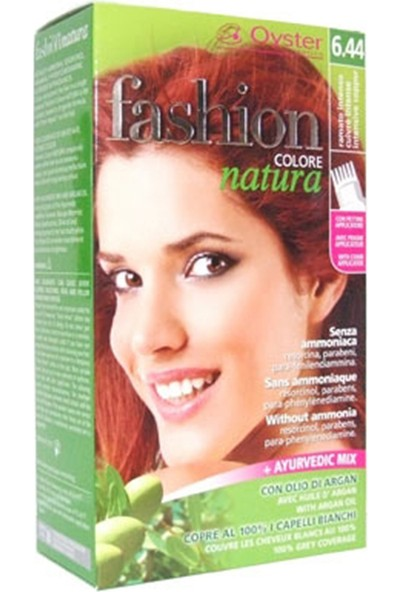 Fashion Colore Natura Saç Boyası 6.44 İntensive Copper