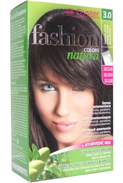 Fashion Colore Natura Saç Boyası 3.0 Dark Brown