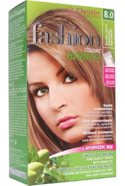 Fashion Colore Natura Saç Boyası 8.0 Light Blond