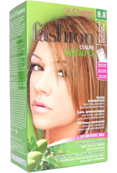 Fashion Colore Natura Saç Boyası 8.8 Tobacco Blond