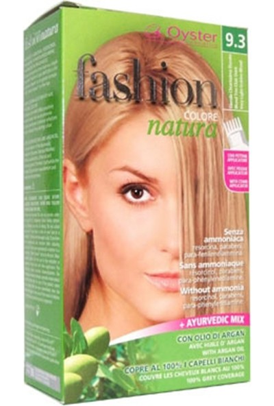 Fashion Colore Natura Saç Boyası 9.3 Very Light Golden Blond