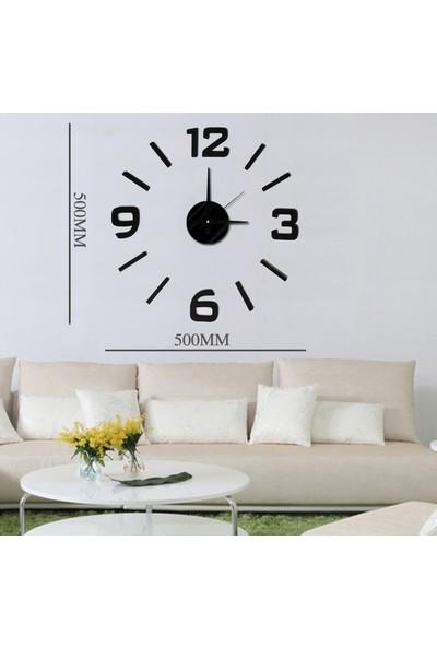 Dıy Clock Yeni Nesil 3D Duvar Saati Mini Model 5