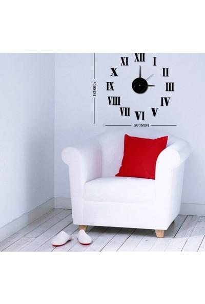 Dıy Clock Yeni Nesil 3D Duvar Saati Mini Model 7