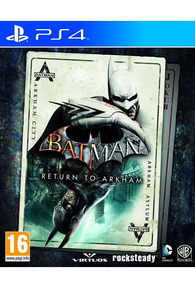 Batman Return To Arkham PS4 Oyun