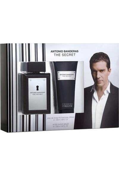 Antonio Banderas Secret Erkek Set (Edt 100 Ml Parfüm + 100 Ml Tıraş Sonrası Losyon)