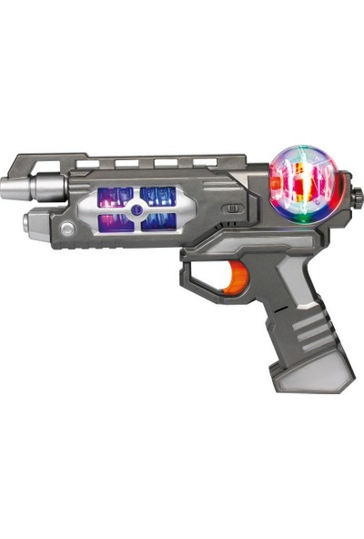 Planet Fighter Lazer Tabanca Tek Namlulu