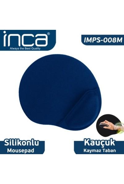Inca IMSP-008M Bilek Yastıklı Mousepad (Mavi)
