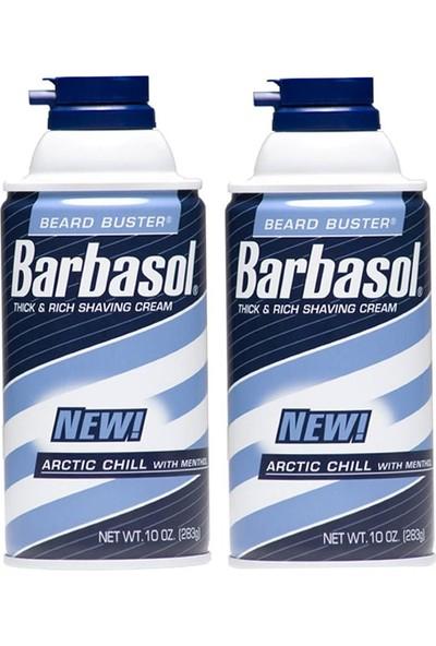 Barbasol Thick&Rich Shaving Cream Arctic Chill With Menthol Mentollü Traş Köpüğü 283 gr