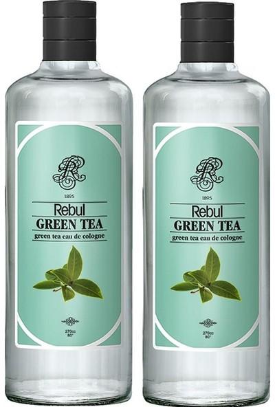 Rebul Green Tea - Yeşil Çay Kolonyası 270 ml 2'li