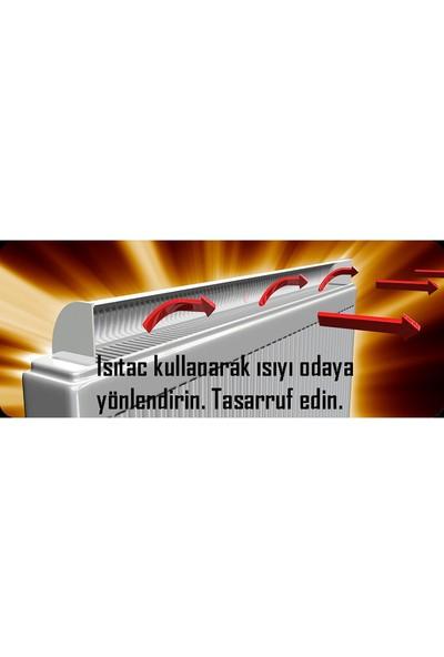 Isıtaç Kalorifer Radyatör Alüminyum Isı Yönlendirici 80cm