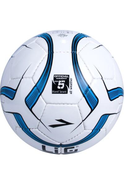 Lig Basic Futbol Topu Saks-Beyaz