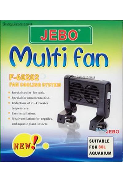 Jebo Akvaryum Soğutucu Fan 2Li F-60202