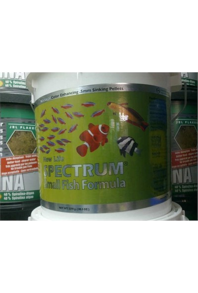 New Life Spectrum Small Fish Formula 250Gr