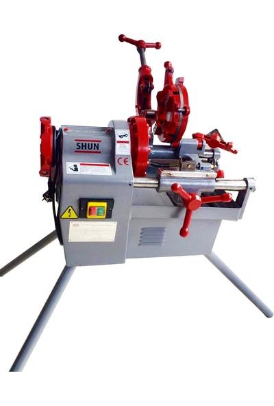 Shun 2'' Elektrikli Tezgah Pafta Makinası Profesyonel