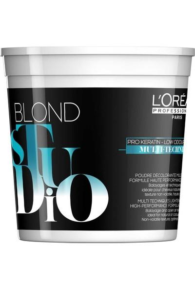 L'Oréal Professionnel Blond Studio Multi Techniques-8 Toz Açıcı 500G