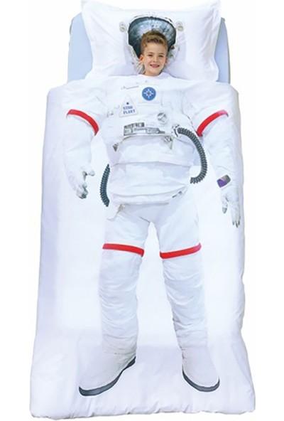 Özdilek Tek Kişilik Nevresim Takımı Astronot