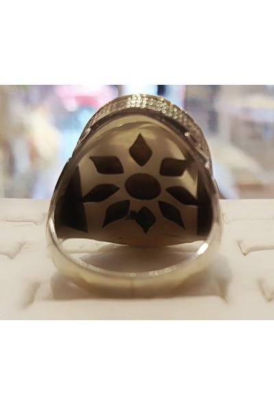 Tyelo Takı, Gümüş Kaplumbağa Kabuğu, Sedef İşlemeli Semazen Yüzük