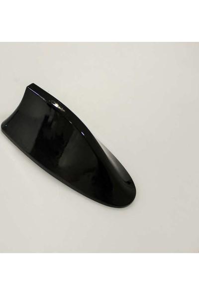 Ptn Bmw Tip Elektirikli Balina Shark Tipi Anten M3 Parlak Siyah