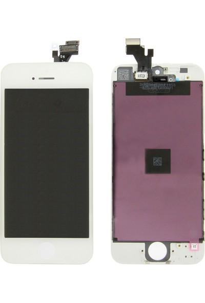 CepToys İphone 5 Lcd Ekran Dokunmatik Beyaz