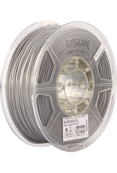 Esun Pla+ Gümüş 1,75 Mm 3B Yazıcı Filament