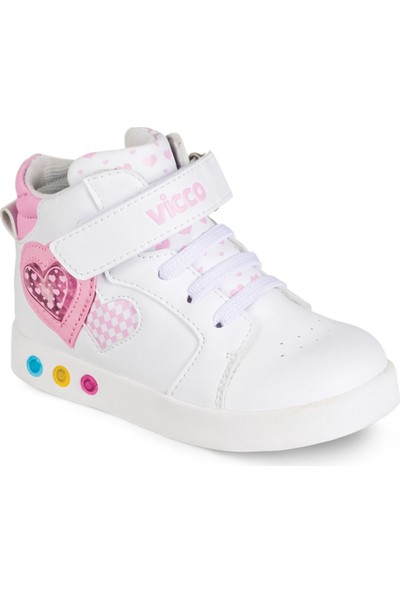 Vicco Işıklı Spor Ayakkabı 937.T.042 Beyaz / 28