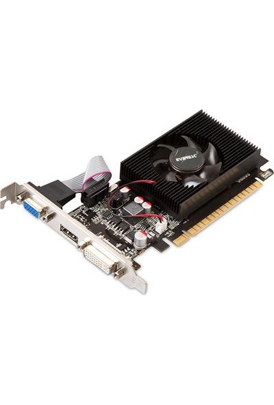 Everest Nvidia GeForce GT 730 4GB 64Bit DDR3 (DX12) PCI-E 2.0 Ekran Kartı (EVG-4096GT730)