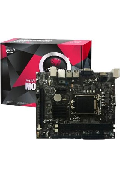 Afox IH110-MA Intel H110 DDR4 Soket 1151 mATX Anakart