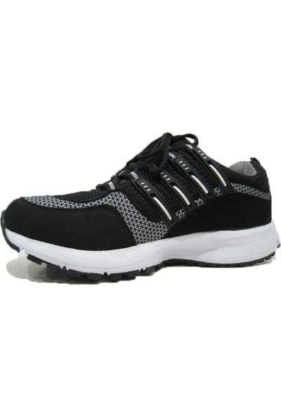 Lepons 004 Merdane Erkek Spor Ayakkabı - Siyah - Beyaz