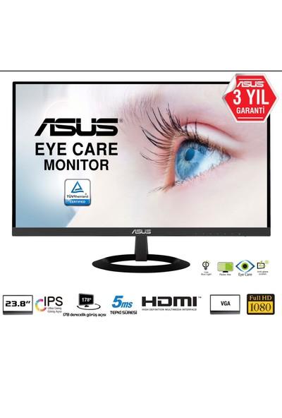 "Asus VZ249HE 23.8"" 5ms 75hz (D-SUB+HDMI)IPS Monitör"