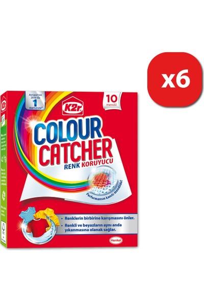 K2R Colour Catcher Renk Koruyucu Mendil 6'lı Set 6x10