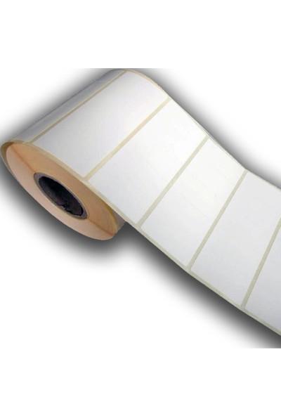 Eco Barkod Etiketi - Termal 40 X 20 - Rulo Etiket 1000Lik 10 Adet